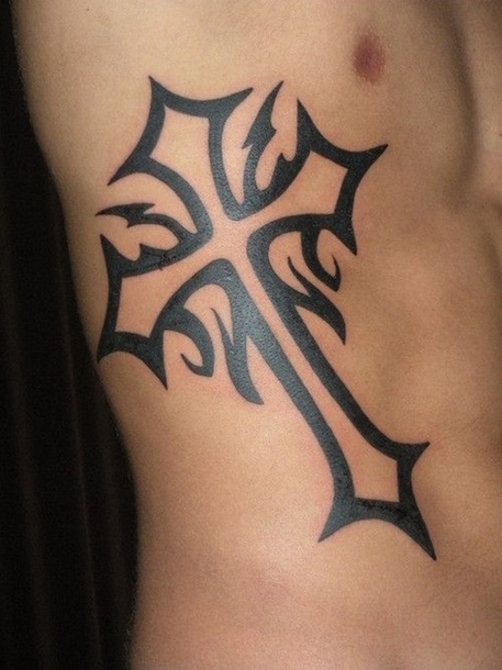 Celtic Cross Tattoo for Men Tattoo Idea