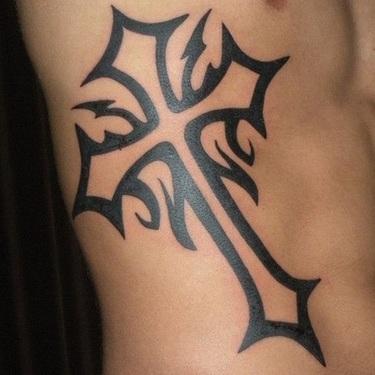 Celtic Cross Tattoo for Men Tattoo