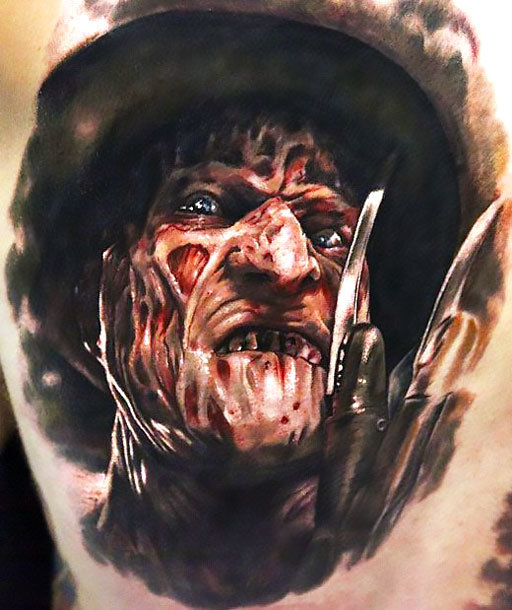 Freddy Krueger Tattoo Idea