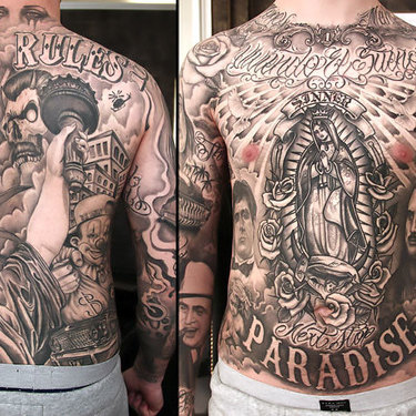 Full Body Chicano Tattoo
