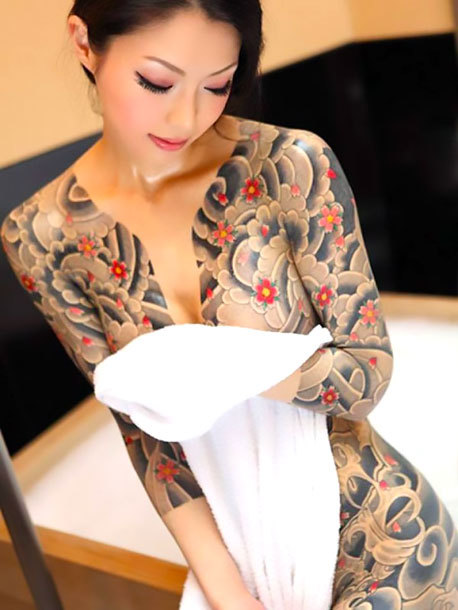 Full Body Oriental Tattoo for Girls Tattoo Idea