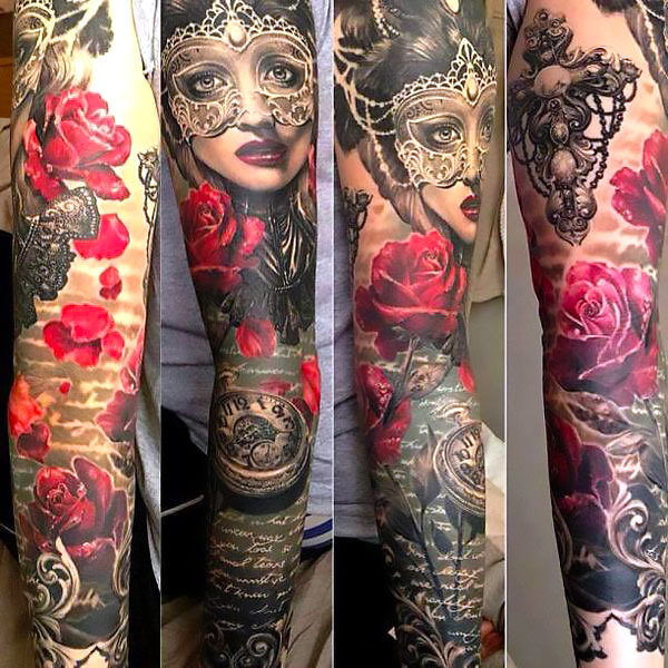 Full Sleeve Tattoo Idea