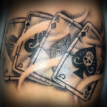 Four Aces Tattoo