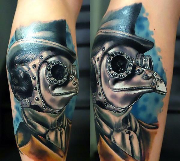 Steampunk Doctor Tattoo Idea