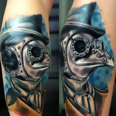 Steampunk Doctor Tattoo