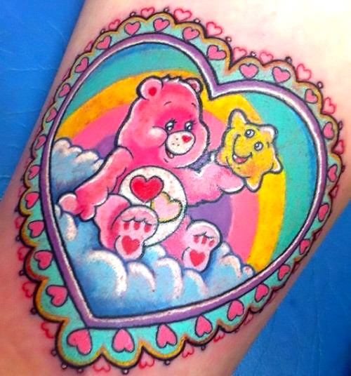 Care Bear Tattoo Idea