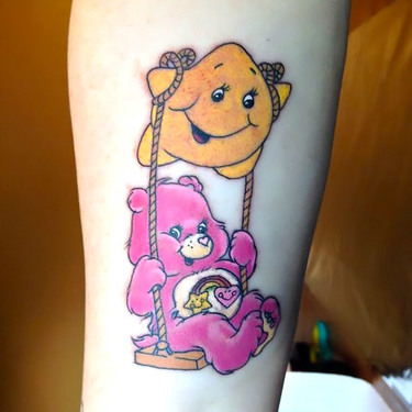 Care Bear With Star Tattoo