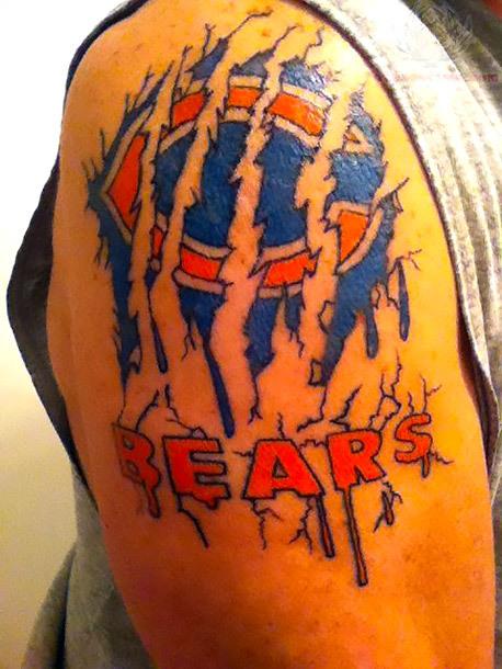 Chicago Bears Tattoo Idea