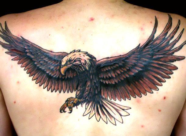 Beautiful Eagle Tattoo Idea