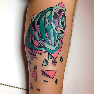 Grizzly Bear Tattoo Tattoo