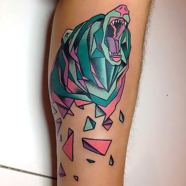 Grizzly Bear Tattoo Tattoo