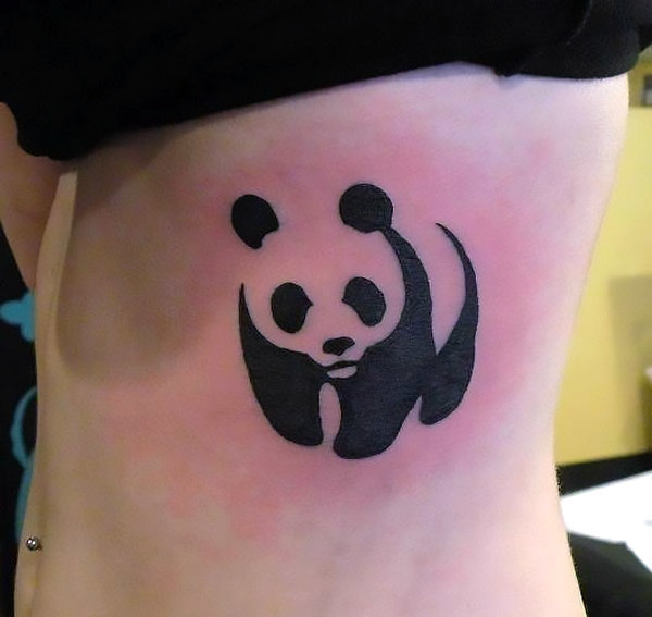 Panda Bear Tattoo Idea