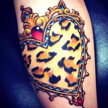 Animal Print Leopard Tattoo