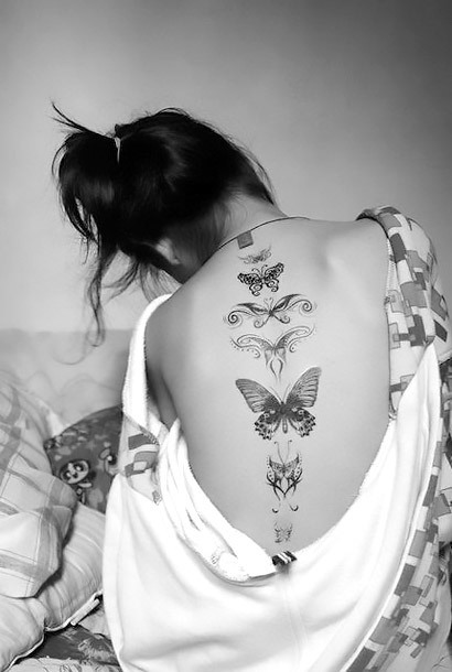 Butterfly Tattoos for Women Tattoo Idea