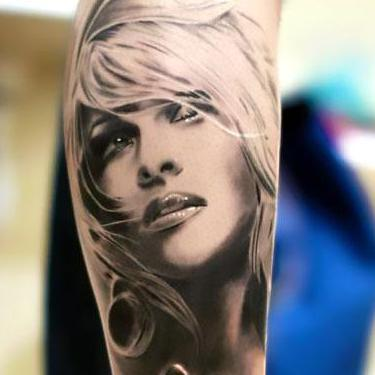 Best 3D Portrait Tattoo