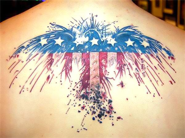 Best American Eagle Tattoo Idea