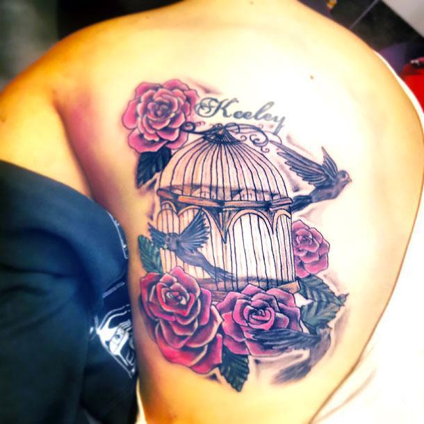 Best Birdcage Tattoo Idea