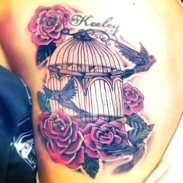 Best Birdcage Tattoo