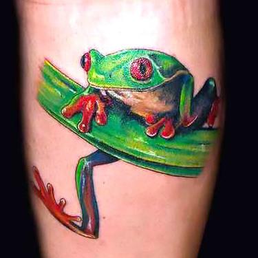 Tree Frog Tattoo