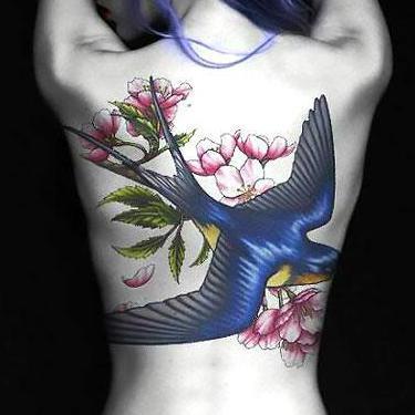 Best Bluebird for Girls Tattoo