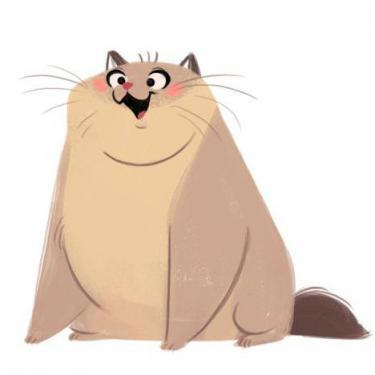 Fat Cat Tattoo