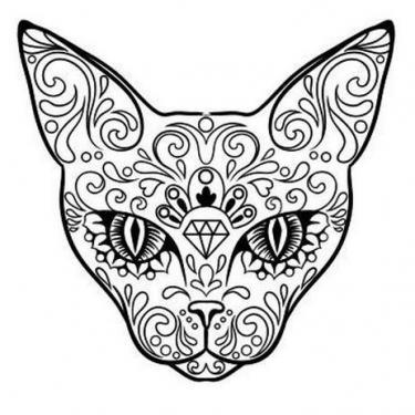 Pattern Cat Tattoo