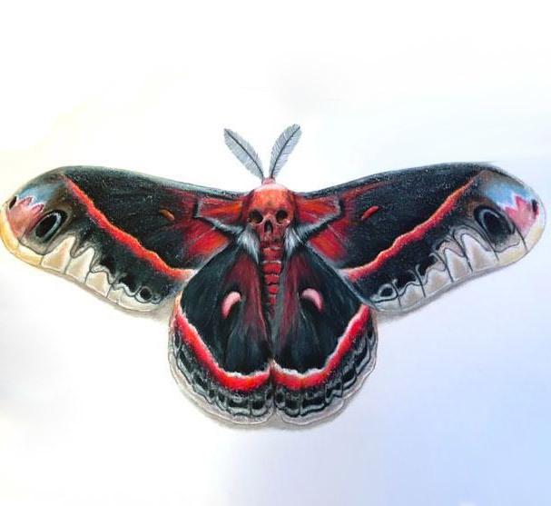 Amazing Buttefly Tattoo Design