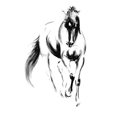Amazing Horse Tattoo Design