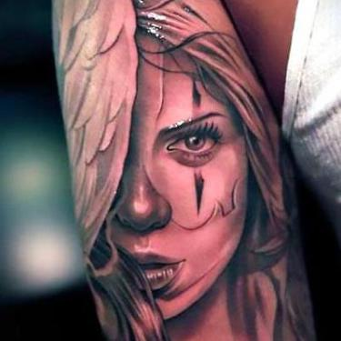Best Chicano Lady Tattoo