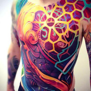 Best Colorful Tattoo for Guys Tattoo