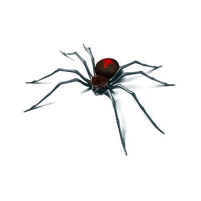 Black Widow 3D Spider Tattoo Design