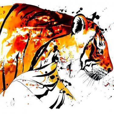 Bengal Tiger Tattoo