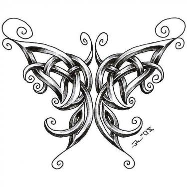 Best Celtic Butterfly Tattoo