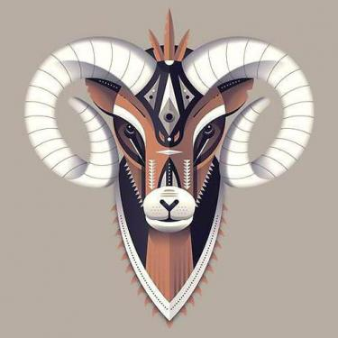 Best Ram Head Tattoo