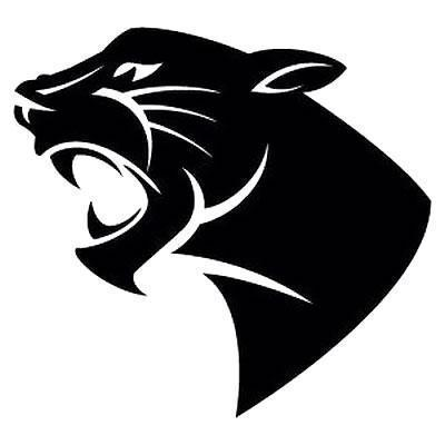 Black Panther Head Tattoo Design