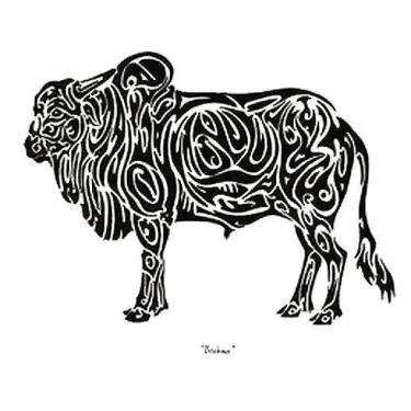 Brahma Bull Tattoo
