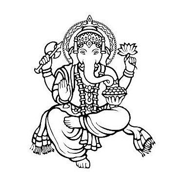 Ganesh God Tattoo