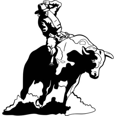 Bull Rider Tattoo
