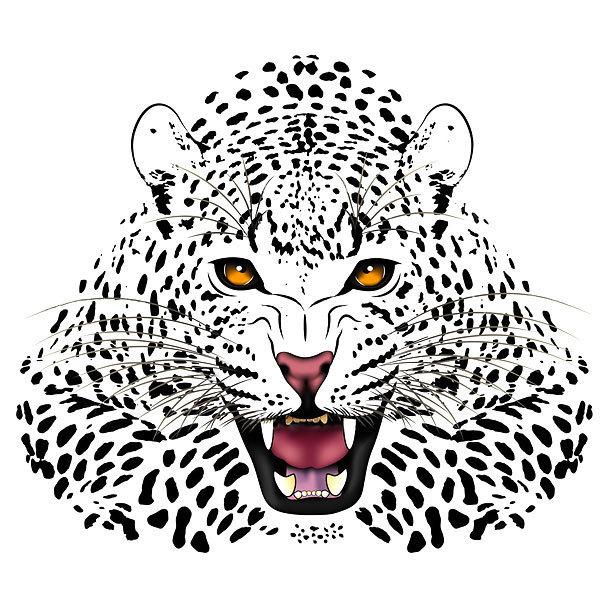 Cheetah Print Tattoo Design