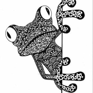 Cool Best Frog Tattoo
