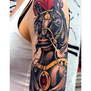 Awesome Dark Horse Tattoo