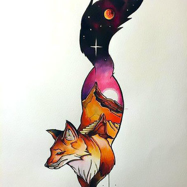 Cosmo Fox Tattoo