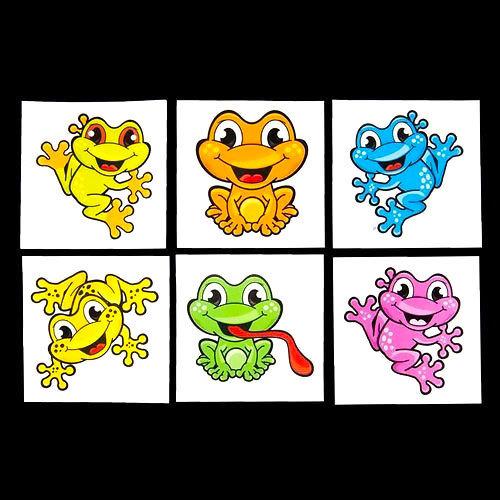 Cute Frogs Tattoo Design