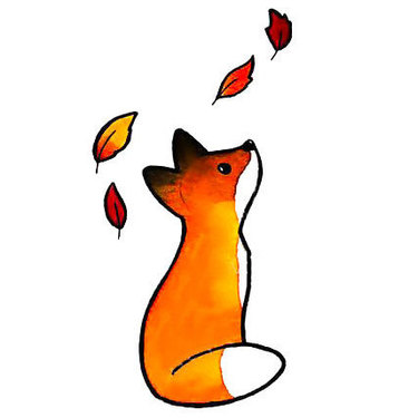 Cute Tiny Fox Tattoo