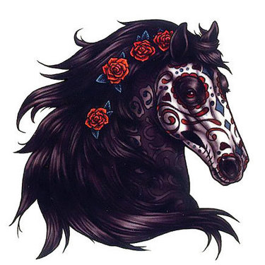 Dead Horse Head Tattoo