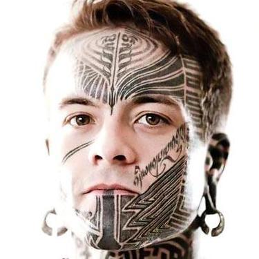 Best Face Tattoo