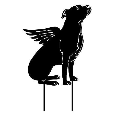 Flying Pitbull Tattoo Design