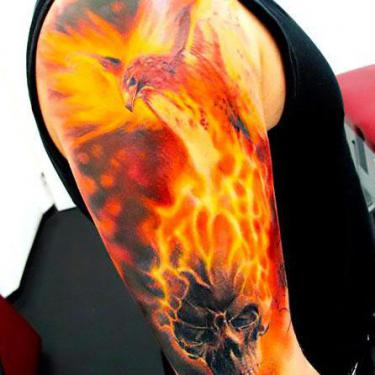 Best Firebird Tattoo