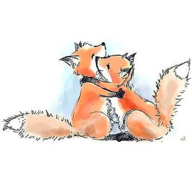 Foxes Friendship Tattoo