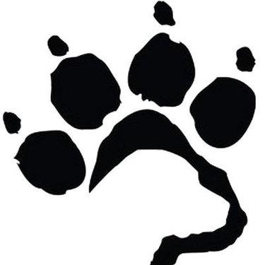 Labrador Dog Paw Tattoo
